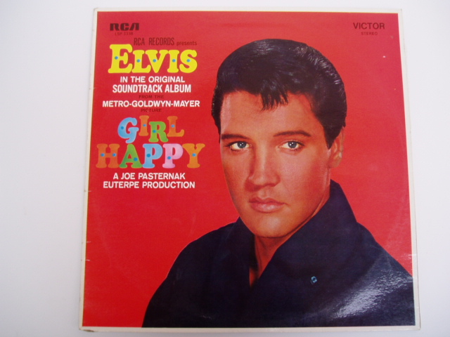 Elvis-Presley-Girl-Happy-OZ-pressing-LP