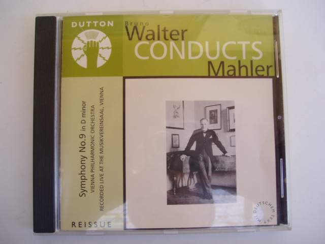 WALTER-CONDUCTS-MAHLER-Symphony-no-9-CD