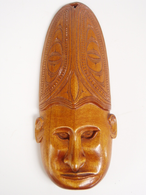 WOODEN-CARVED-MASK-Pacific-320mm-high